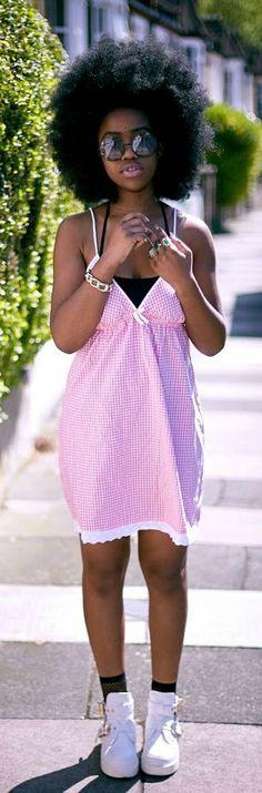 HOW TO PINK DRESS -   The Slumflower