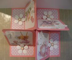 quadruple square easel card, finished size 8 x 8