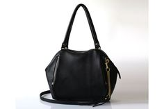 Handcrafted leather Liria Satchel from an amazing indie designer, new to us