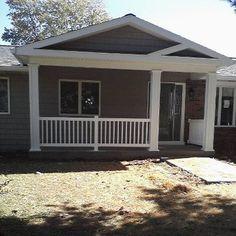 Front porch ideas dream big, hous decor, household junk, front porch addition, porch idea, back porches, front porches