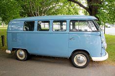 Blue VW van spotted in Christchurch, NZ