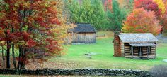 Homestead In Fall