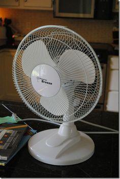 re paint a cheap fan