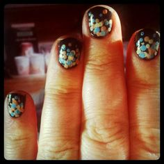 #dots #nails #manicure #inspiration