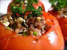 Turkey Stuffed Tomatos