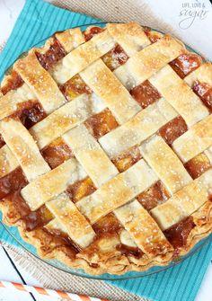 peach pie, pie crusts, pie recipes