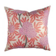 Caitlin Wilson berry fleur chinoise pillow