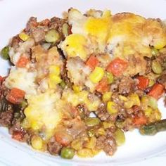 Chef John's Shepherd's Pie - this is what I'm feeling like today.  Warm and stick to your ribs comfort food!