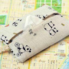 DIY Tutorial make your very own Japanese tissue pocket.