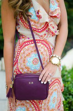 GiGi New York | For The Love of Fancy Fashion Blog | Wine Madison Crossbody