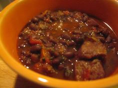 Double Pork and Black Bean Chili {Electric Pressure Cooker Recipe}
