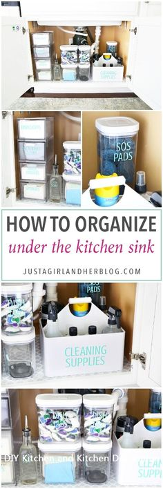 DIY Kitchen Organiza