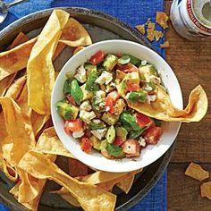 Avocado-and-Feta Dip | MyRecipes.com