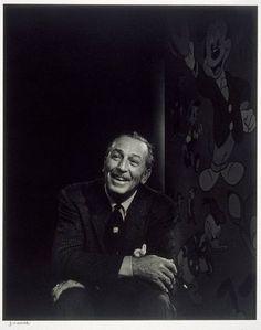Walt Disney  1956  Yousuf Karsh, Canadian (born in Turkish Armenia), 1908–2002