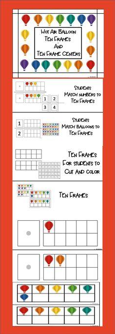 Ten Frames and Ten Frames Centers