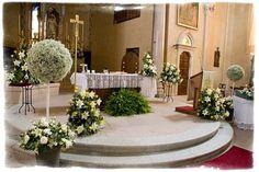 wedding altar in Italy