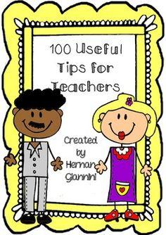 FREE 100 Useful Tips for Teachers