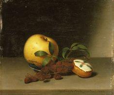 "Still Life with Cake, Raphaelle Peale, ca. 1822, p.446 (example; ""my Raphaelle Peale"")"