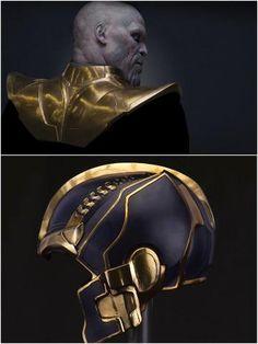#avengers movie #conceptart Thanos