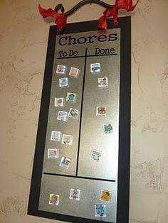 chore chart tutorial