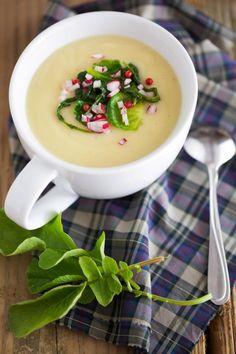 roasted parsnip soup