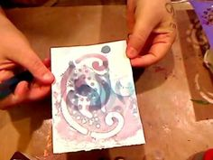 MAKING MIXED MEDIA INK SPRAYS FROM FOOD COLORING