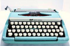 Clara is asking for a typewriter