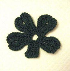 Easy Crochet Shamrock