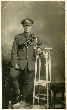 A Boy soldier of WWI.