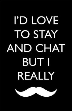 mustache sign for guest room