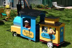 Cardboard Train Wagon