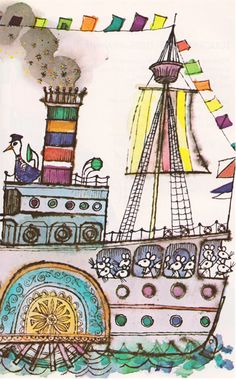 Lovely illustration from Alice and Martin Provensen.