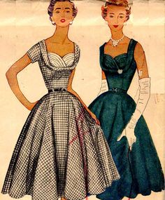 "1950s Simplicity 4704 -- good ""formal"" top option here"