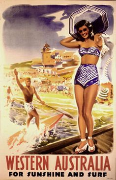 Found: Australian Travel Posters from the 1930s – 1950s | Pappmaskin.no