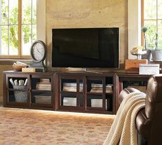 Winslow Long Media Suite | Pottery Barn