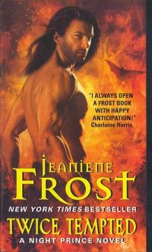 Twice tempted : a Night Prince novel by Jeaniene Frost.Click the cover image to check out or request the science fiction and fantasy kindle.