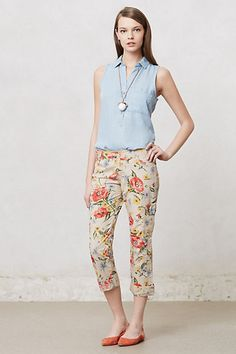 Sundrop Cargo Pants #anthropologie