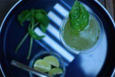 Cucumber Lime Basil Martini