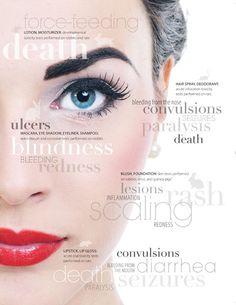 mascara, eyebrow, magazin