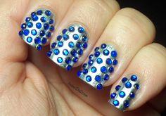 rhinestone-nail-art-designs-elegant-silver