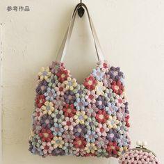 ao with <3 / crochet flower motif purse