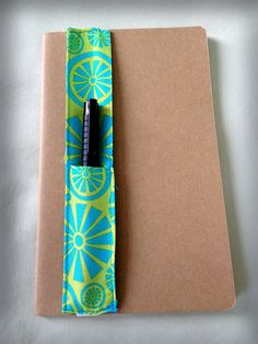 Journal pen holders // Simple sewing project