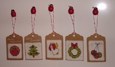Tutorial for Gift Tags