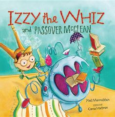 Izzy the Whiz is an amateur inventor who, right before Passover, creates a super-duper machine that whirs and purrs and munches and crunches and miraculously cleans the entire house just in time for the holiday -- but not without creating havoc along the way.
