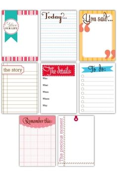 Printables (not free)