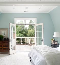 """Woodlawn Blue, HC-147 by Benjamin Moore"""