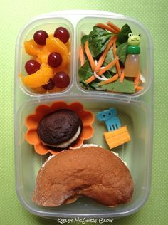 #Lunch Made Easy: @MOMables Monday! Packed in an @Easylunchboxes container.  #Bento #GlutenFree #NutFree