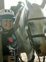 Nine-year-old Grace captured her feelings about camp, homesickness, and the thrill of riding a horse in this fun essay she wrote for school.