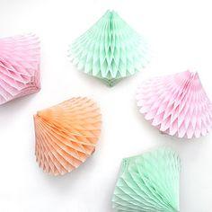 Tissue Paper Diamond Decoration - decorative accessories