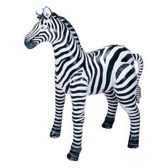 Inflatable Zebra - Small at theBIGzoo.com, a toy store that has shipped over 1.2 million items.